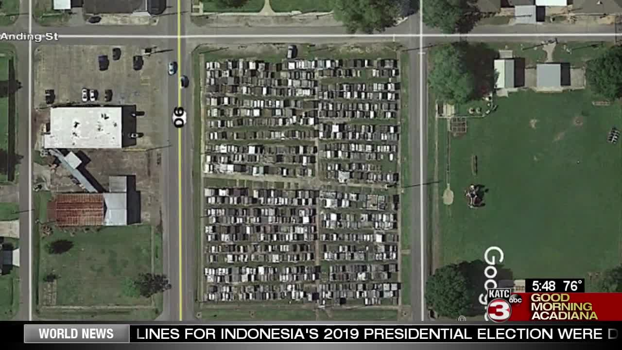 St. Joseph Cemetery plots