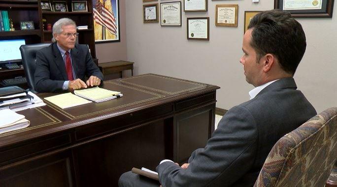 KATC's Jim Hummel interviews 15th Judicial District Attorney Keith Stutes