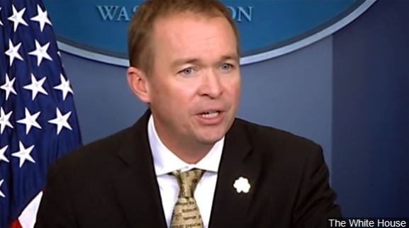 Mick Mulvaney, President Donald Trump's budget director who has been also acting director of the bureau, took over in late November.