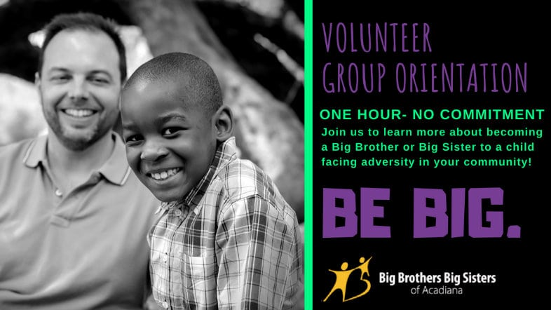 Big Brothers Big Sisters Group Orientation