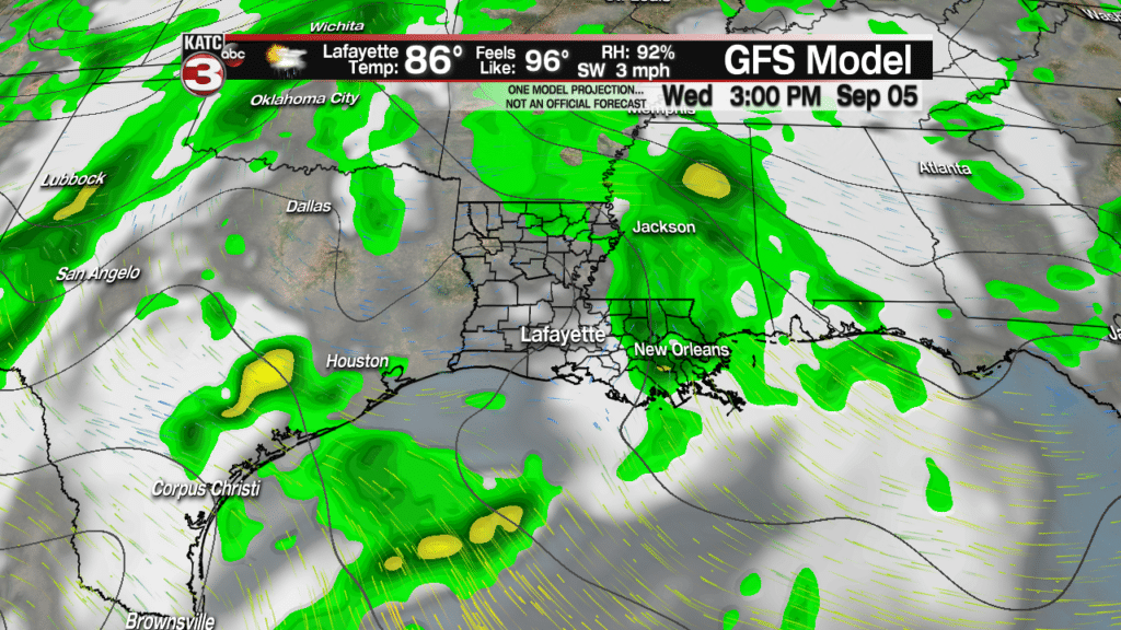 More showers and storms Sunday & Monday