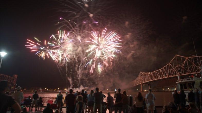 Fireworks 83rd Shrimp and Petroleum Festival