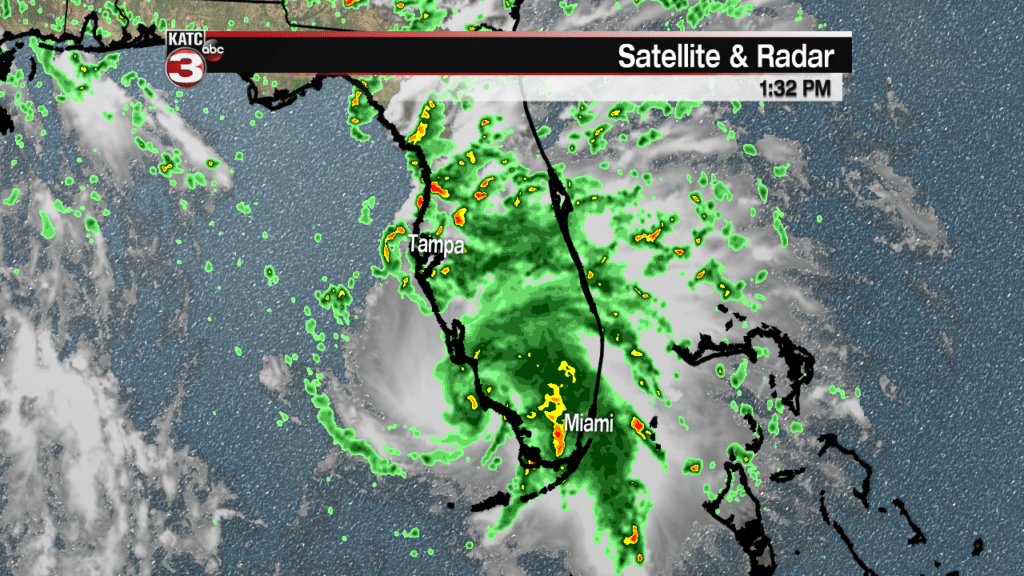 Tropical Storm Gordon Satellite