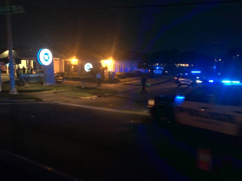 Johnston Street and Arnould Blvd crash