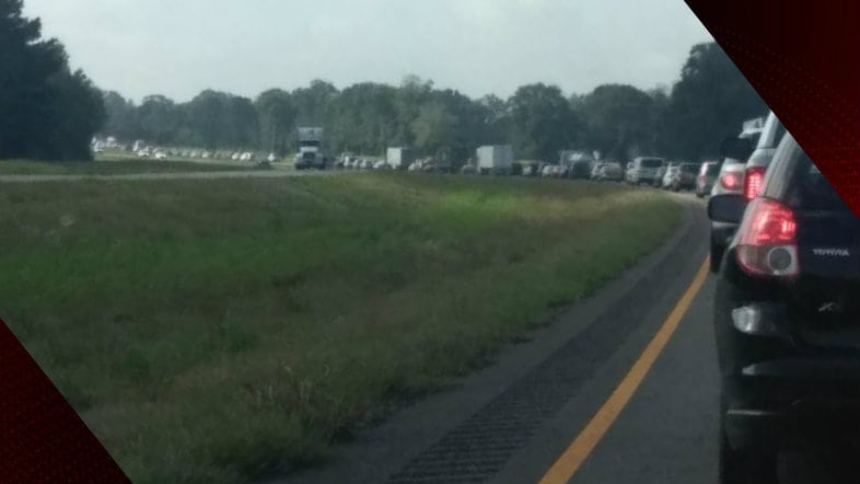 I-49 traffic crash