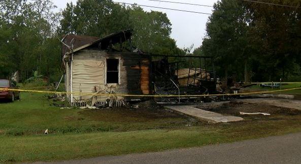 Mermentau house fire