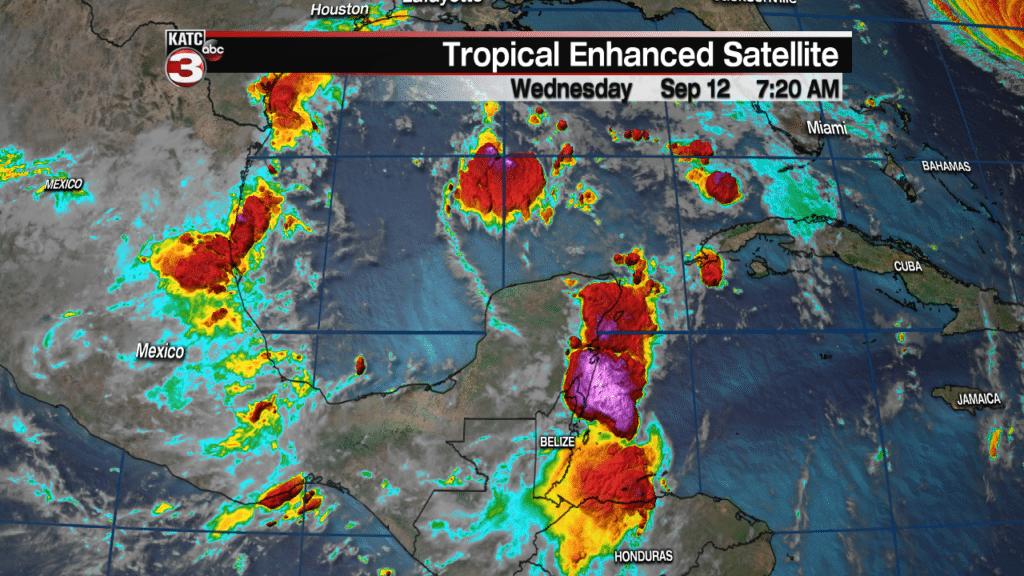 Yucatan satellite