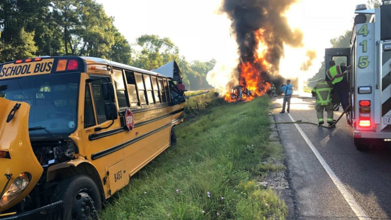 Livingston Parish bus crash