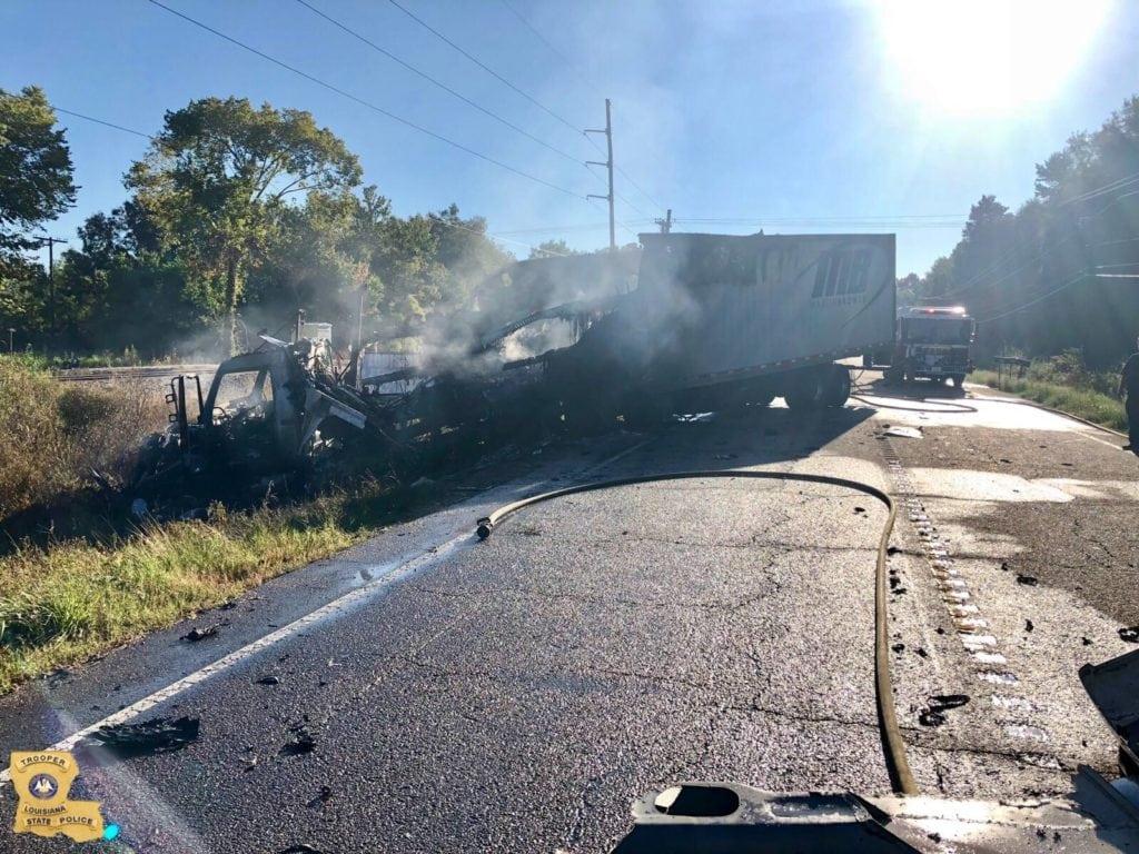 Livingston Parish bus crash
