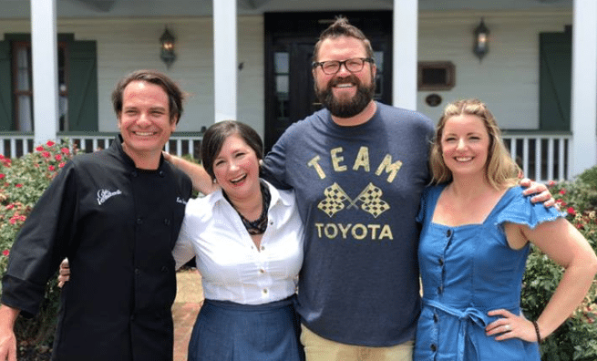 Cafe Vermilionville featured on Southern and Hungry