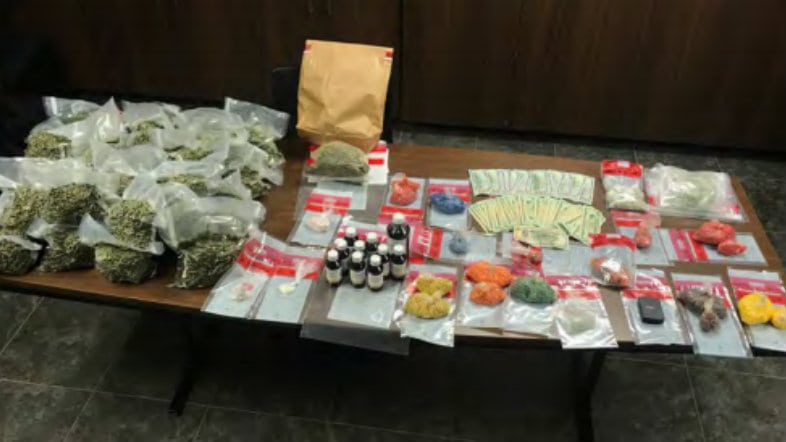 LPSO illegal narcotics 850K