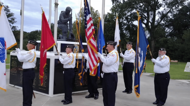 Honor Guard in Opelousas