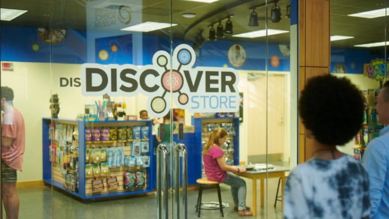 Lafayette Science Museum Discover Store