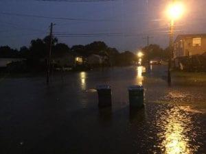 Flooding in Delcambre