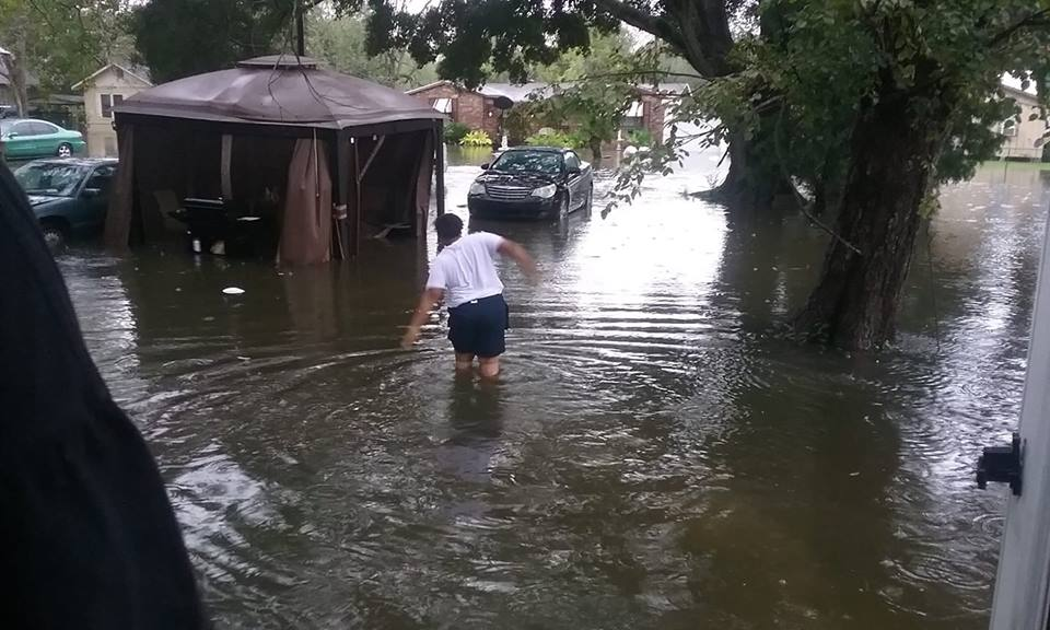 East Lafayette St. and Myrtle St. in Abbeville (By Nadea Manuel)