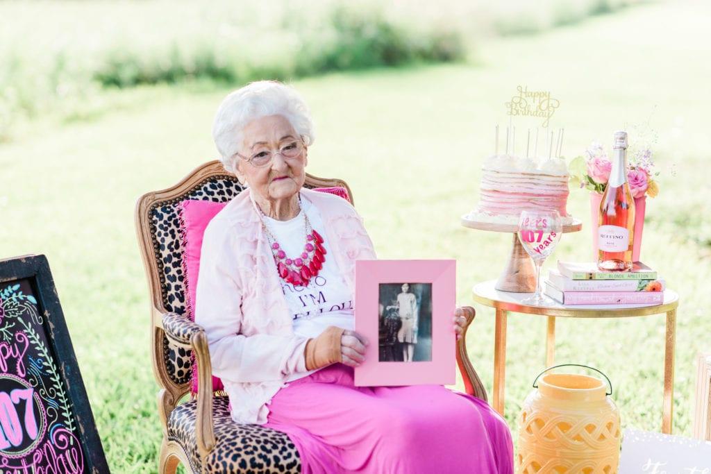 Cecelia Miller 107th birthday