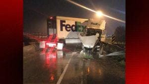 18-wheeler accident Breaux Bridge