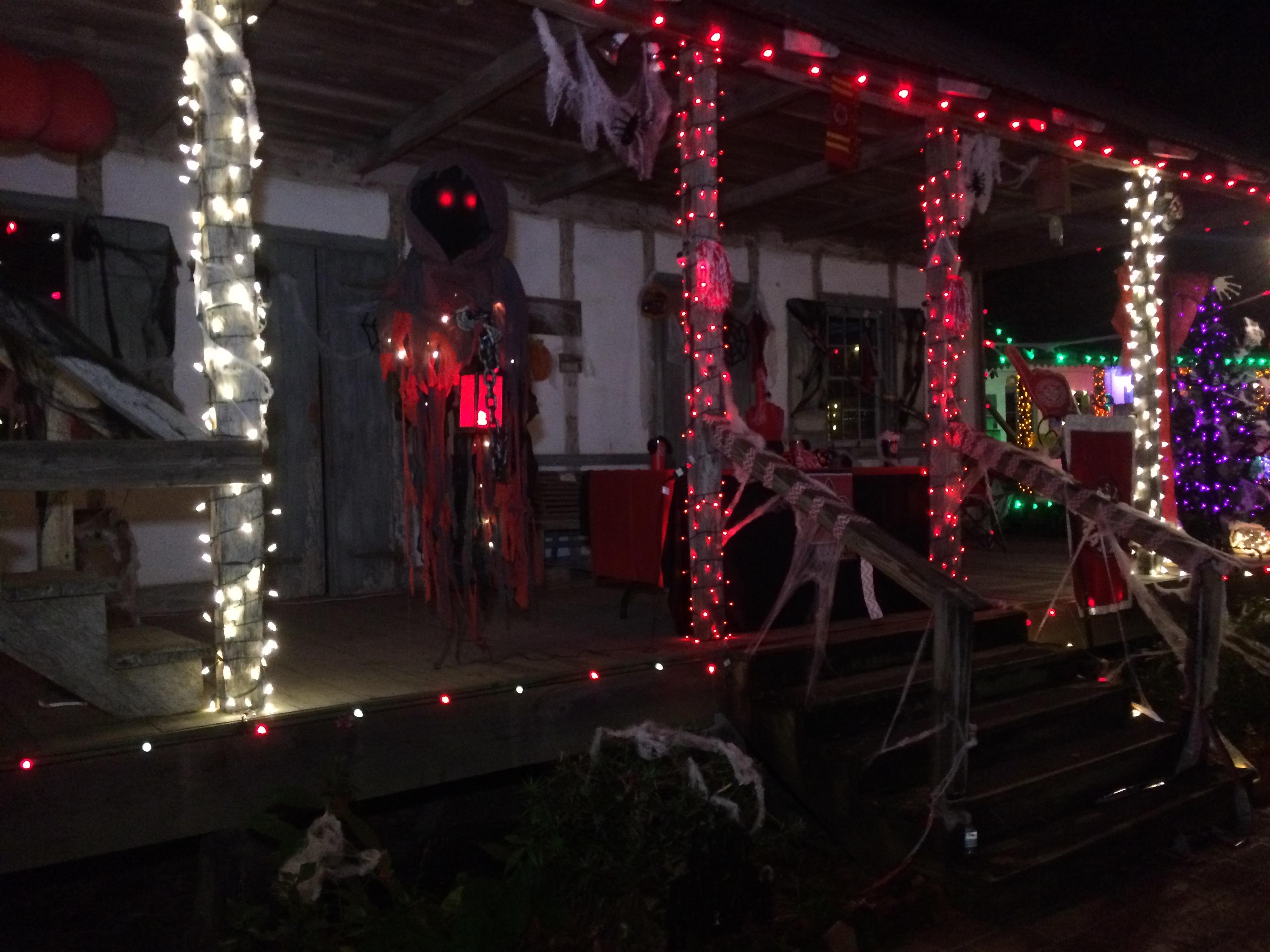 Halloween at LARC's Acadian Village