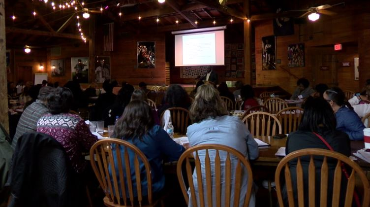 The two-day workshop was held Nov. 1-2 from 8:30 a.m. to 4:30 p.m. on both days at Vermilionville Performance Center (300 Fisher Road) in Lafayette.