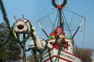 Cajun Christmas.Artist Gives Back With Cajun Christmas Display In Morgan City
