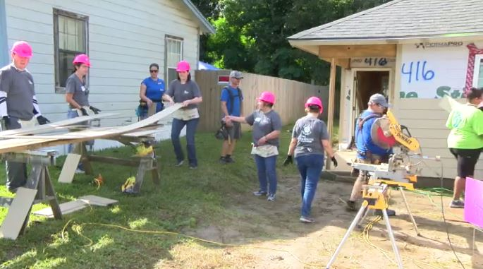 Lafayette Habitat for Humanity kicks off 2018 Women Build. They are encouraging women (and not excluding men) to accept the challenge of housing by raising enough funds to help Lafayette Habitat build an additional home each year.