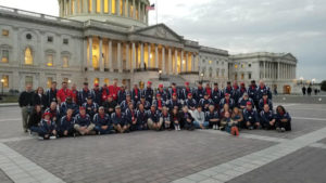 WWII veterans at Capitol Hill