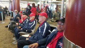 Vets waiting at LFT airport