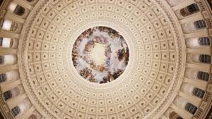 Rotunda shot Capitol Hill