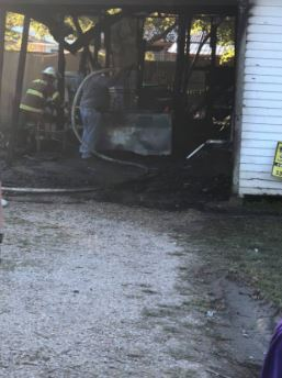 fire at house on Kathy Drive in Rayne