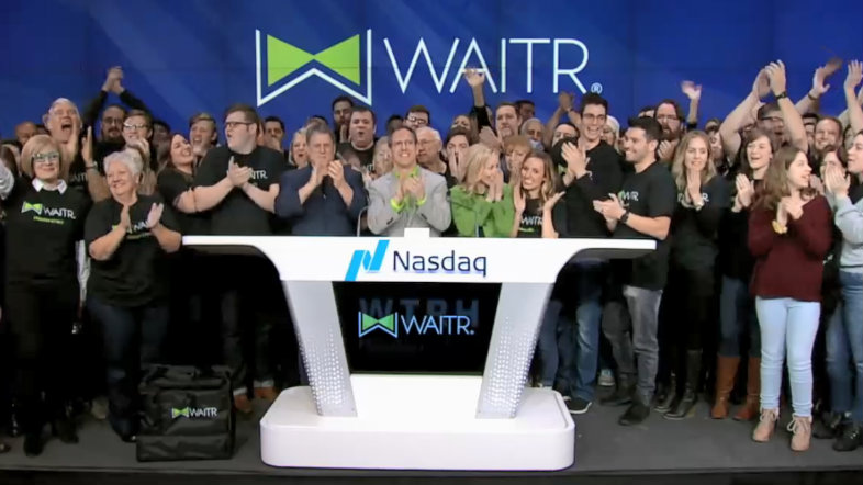 Waitr at Nasdaq