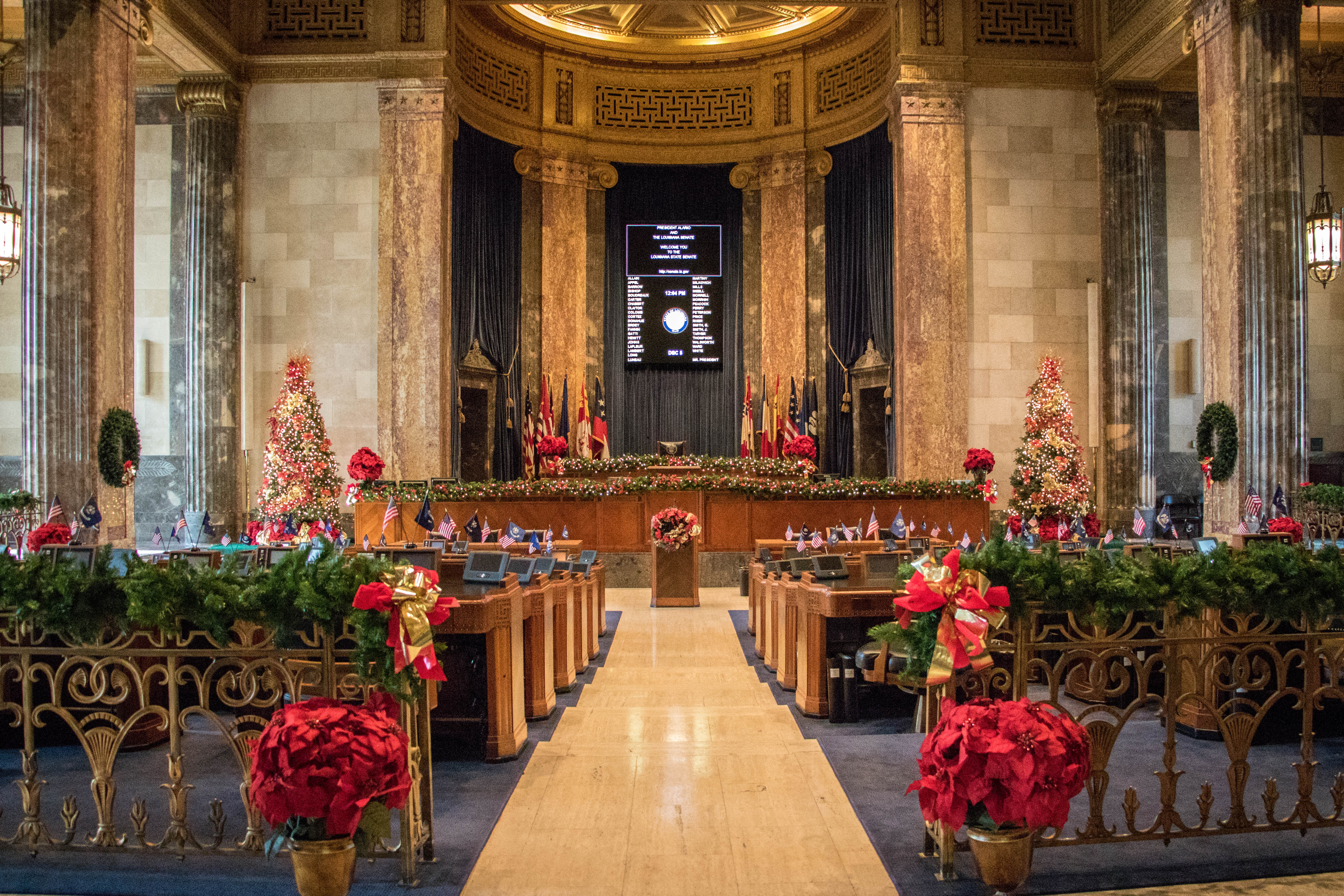 State Capitol Christmas
