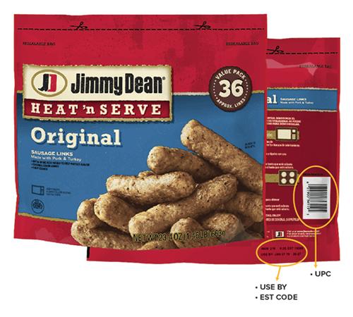 Jimmy Dean heat-n-serve