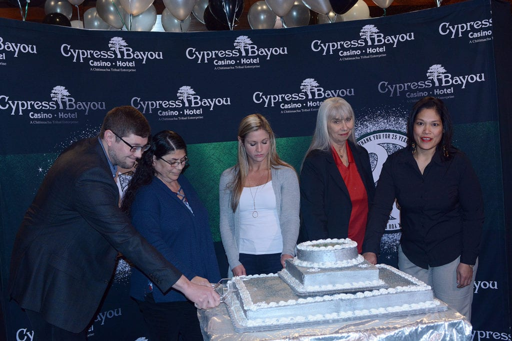 First land-based casino, Cypress Bayou Casino Hotel, marks 25th Anniversary with Special Ceremony on Tuesday, December 18, 2018