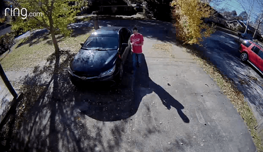 package-theft-suspect-car
