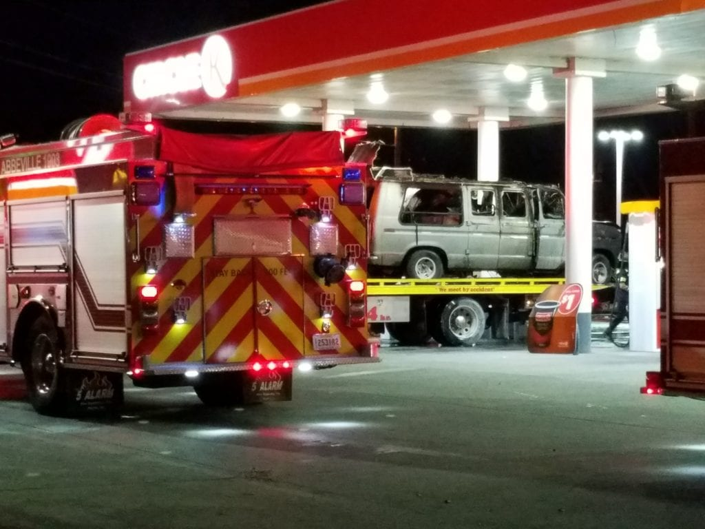 Circle K fire in Abbeville