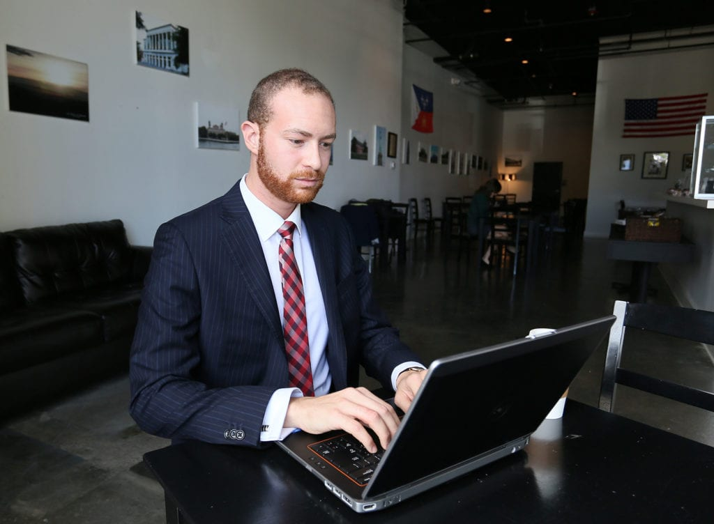 Students enrolled in UL Lafayette's online MBA program have access to a program ranked recently among the nation's best by U.S. News & World Report. (Photo credit: Amy Windsor / University of Louisiana at Lafayette)