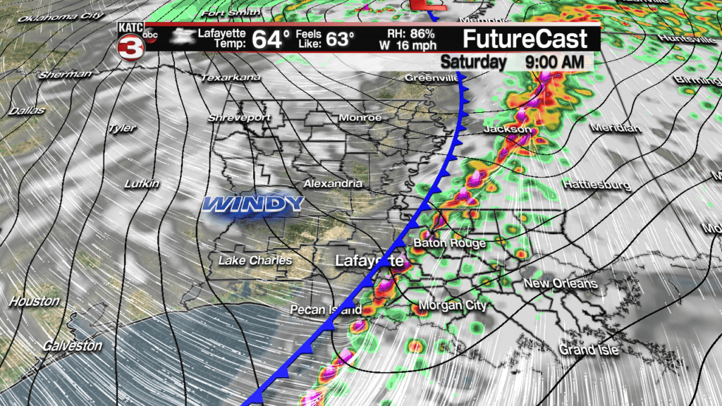 Stormy start, wind-chilly finish to the weekend