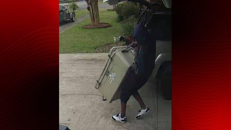 ice chest theft suspect