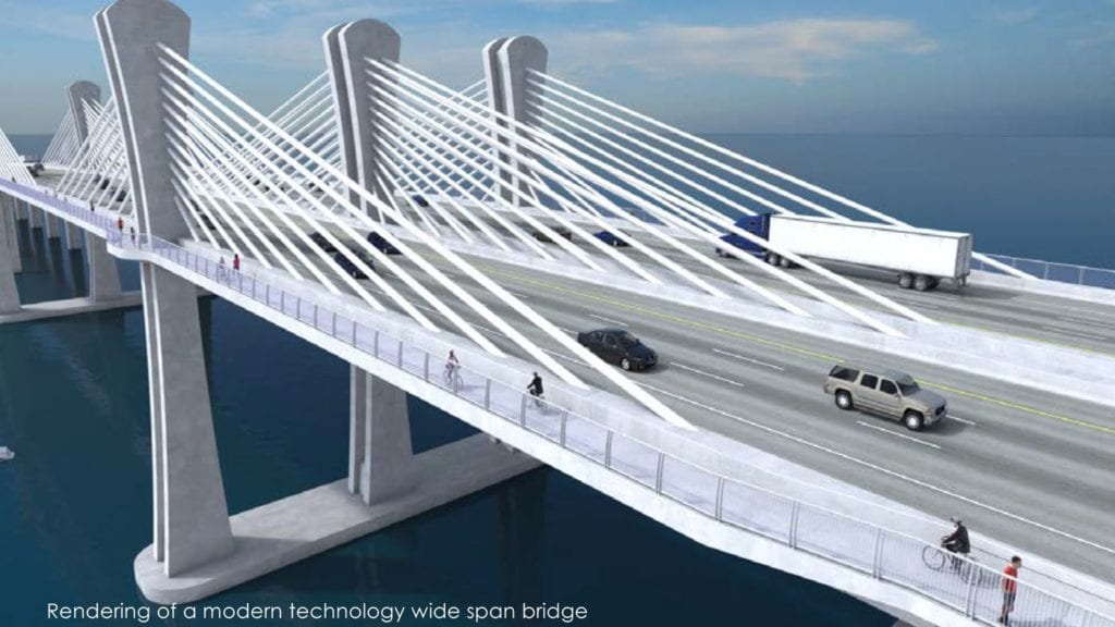 proposal for new Calcasieu River Bridge