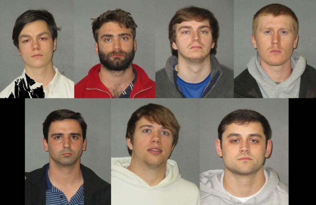 9 LSU fraternity members arrested on hazing-related charges (Photo courtesy: The Advocate)