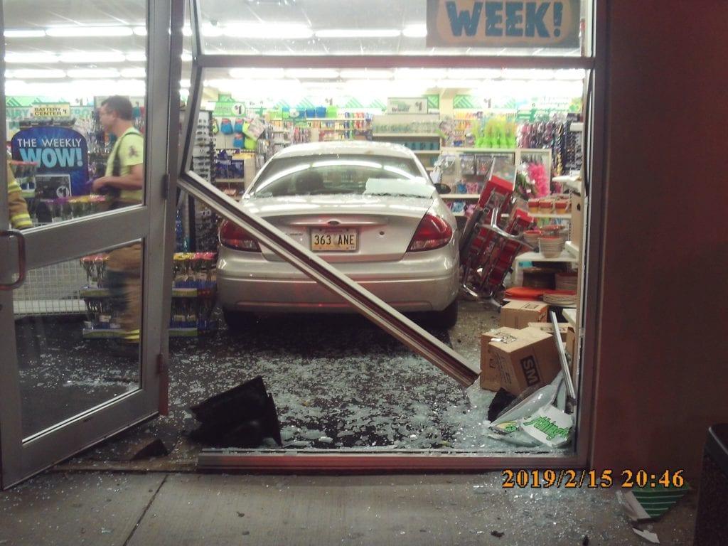 Dollar Tree car crash