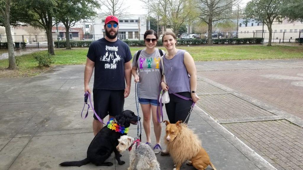 Lafayette's dog parade: Krewe Des Chien