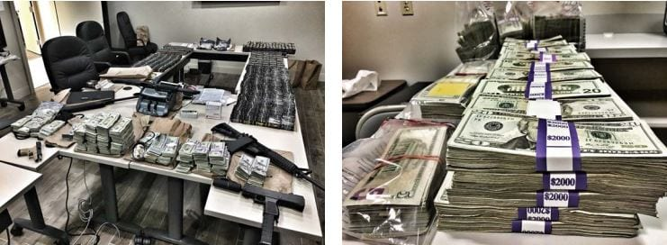 The Lafayette Parish Sheriff's Office Narcotics Unit seized illegal narcotics, U.S. currency and assets worth $658,942.