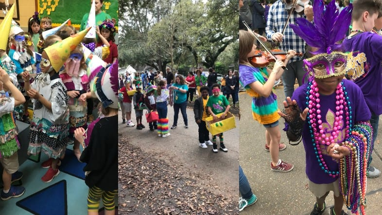 Mardi Gras celebrated at Myrtle Place Elementary