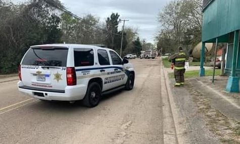 Gas leak capped in St. Mary Parish on March 7, 2019/. (PHOTO: SMPSO FACEBOOK PAGE)