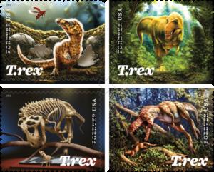 tyrannosaurus-rex-stamps