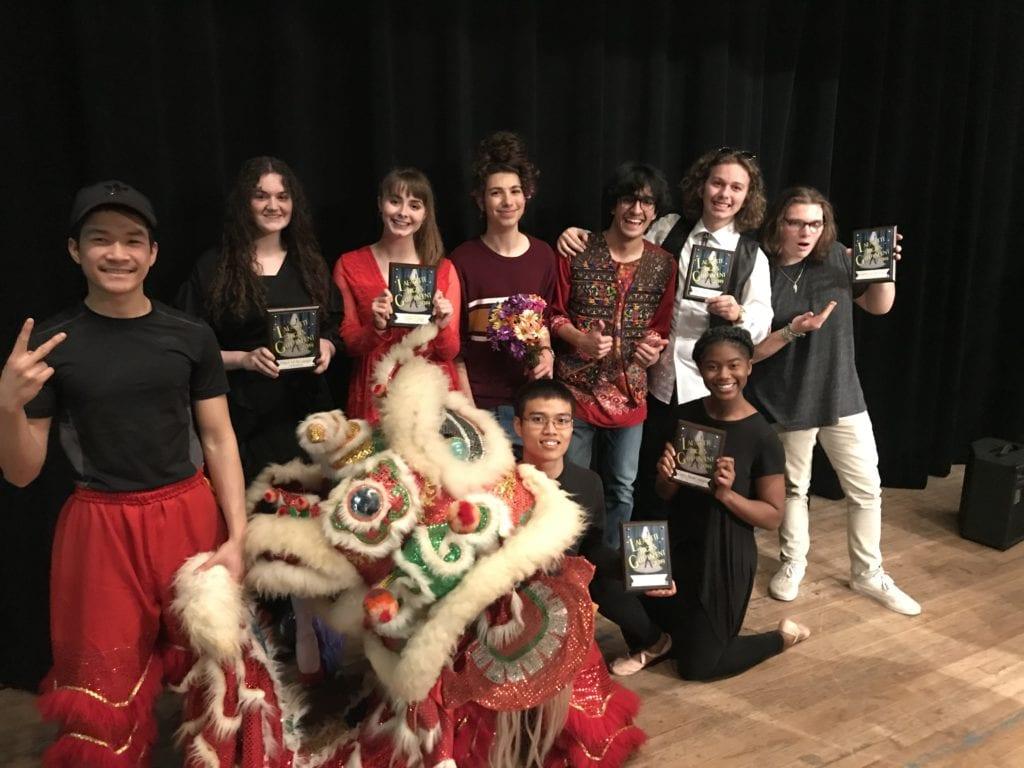 Lafayette High School Talent show winners
