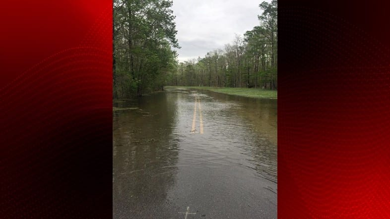 lower St. Martin Parish flooding 3-16-19