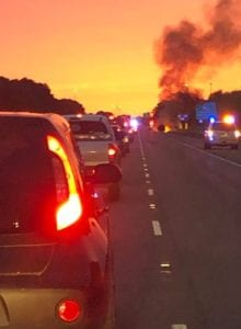 vehicle-fire-I-10-East