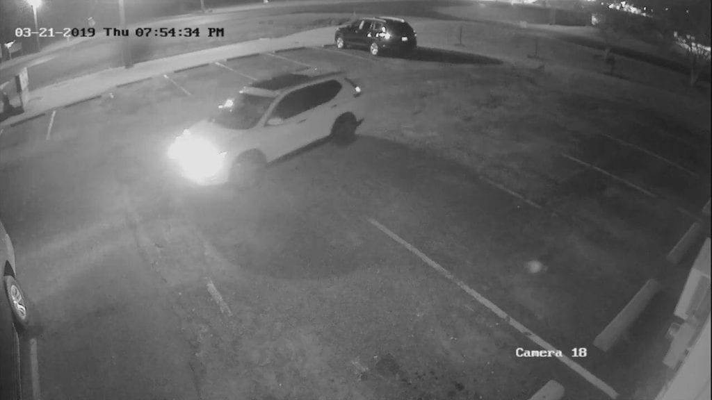 Rayne suspect vehicle